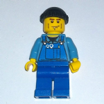 Lego city Mechanic 2008-9  minifigure vgc